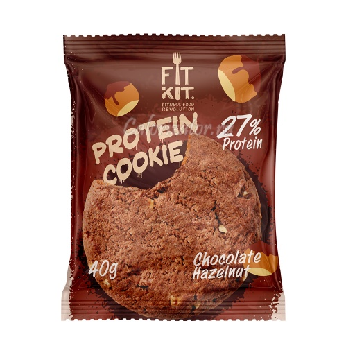 Печенье FITKIT Protein Cookie Chocolate-Hazelnut (Шоколад-Фундук)