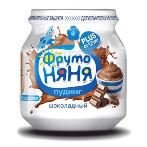Пудинг ФрутоНяня шоколадный