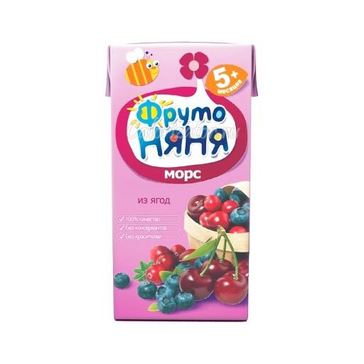 Морс ФрутоНяня из ягод