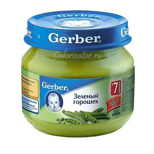 Пюре Gerber Зелёный горошек