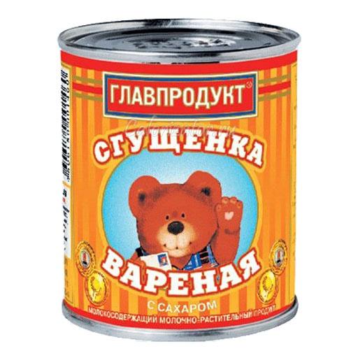 Сгущенка Главпродукт вареная с сахаром