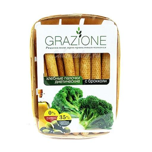 Хлебные палочки Grazione диетические со шпинатом