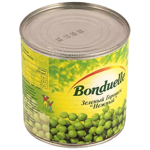 Горошек зелёный Бондюэль Нежный