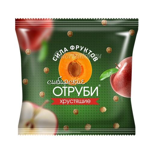 Отруби сибирские Сила фруктов, хрустящие шарики