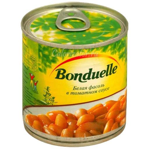 Фасоль Бондюэль белая в томатном соусе