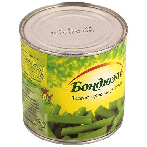Фасоль Бондюэль зелёная резаная