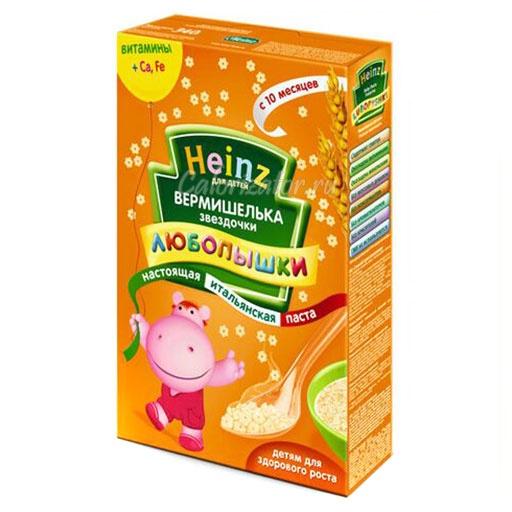 Вермишелька Heinz звездочки Любопышки