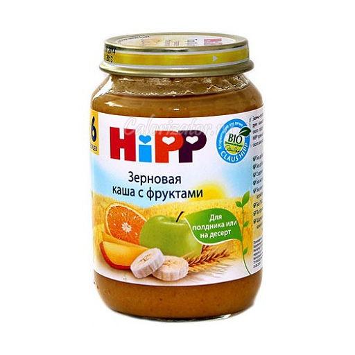 Зерновая каша Hipp с фруктами - калорийность, полезные свойства, польза и вред, описание.