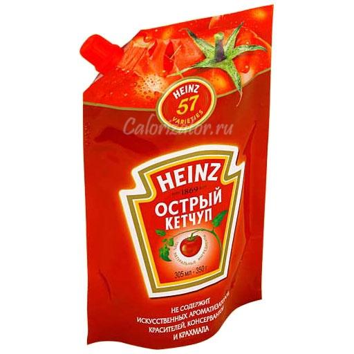 Кетчуп Heinz острый