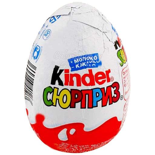 Шоколад Kinder сюрприз