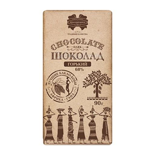 Шоколад Коммунарка горький 68%