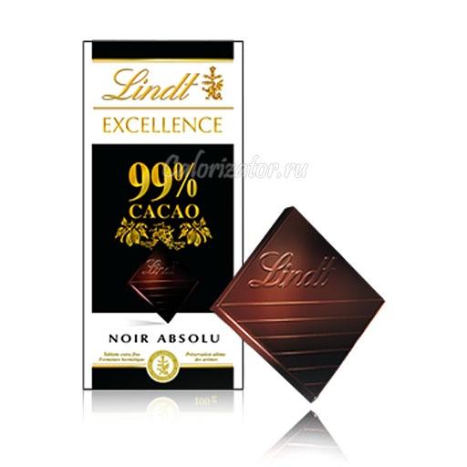 Шоколад Lindt Excellence 99% какао
