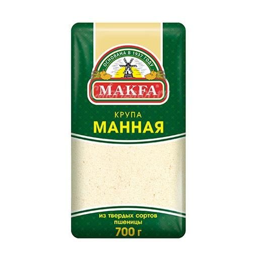 Манная крупа Makfa