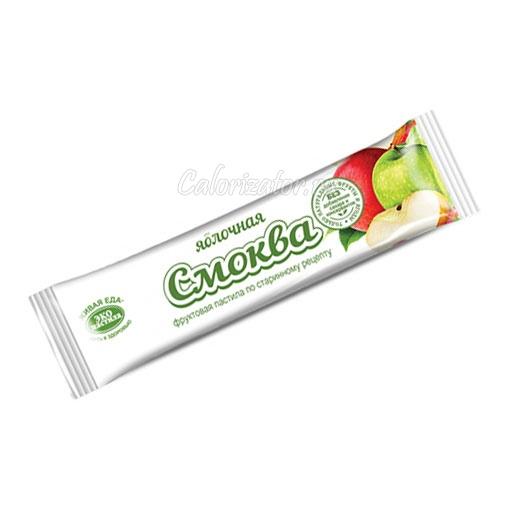 Яблочная смоква (фруктовая пастила) ЭКО Пастила