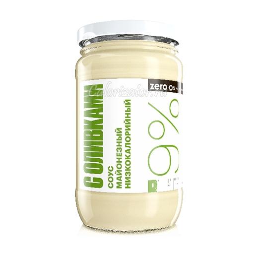Соус майонезный Zero низкокалорийный с оливками