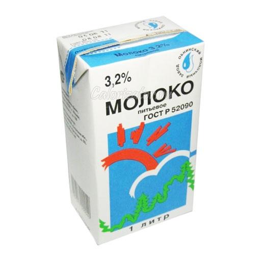 Молоко 3.2%