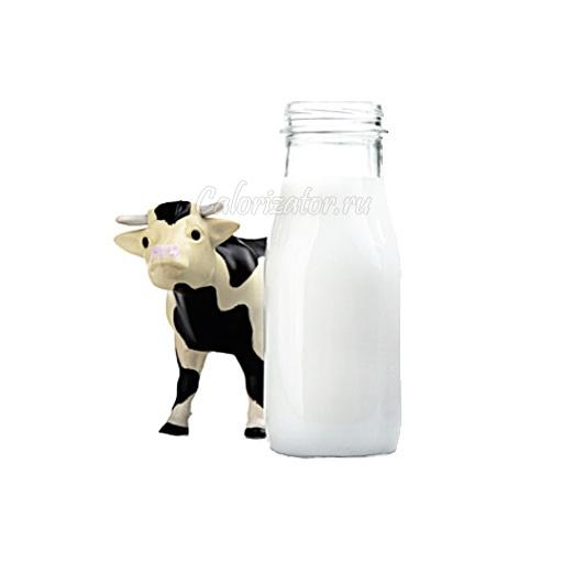 Молоко коровье свежее