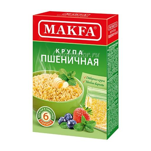Пшеничная крупа Makfa Полтавская в пакетиках