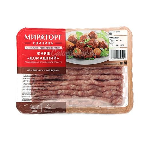 Свино-говяжий фарш Мираторг Домашний