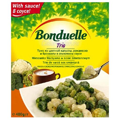 Ассорти Бондюэль из цветной капусты, романеско и брокколи
