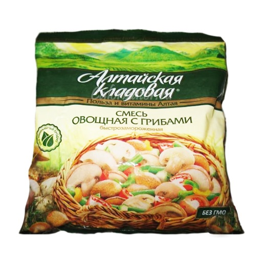 Овощная смесь Алтайская кладовая с грибами