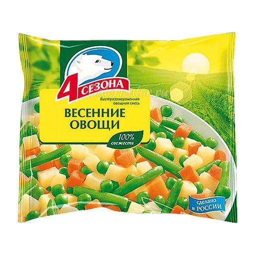 Овощная смесь 4 сезона Весенние овощи