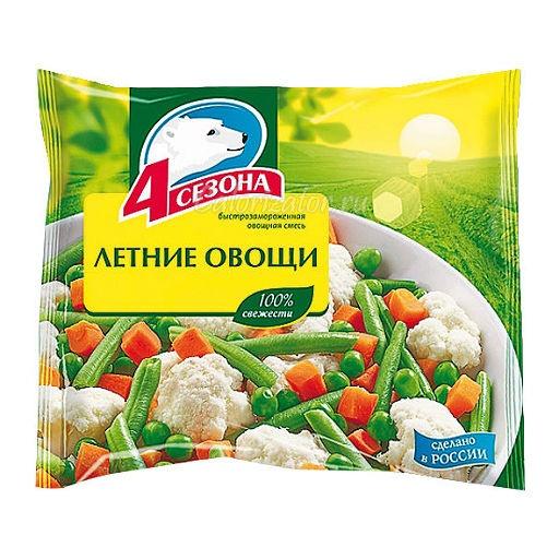 Овощная смесь 4 сезона Летние овощи