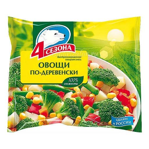 Овощная смесь 4 сезона Овощи по-деревенски