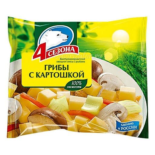 Овощная смесь 4 сезона Грибы с картошкой