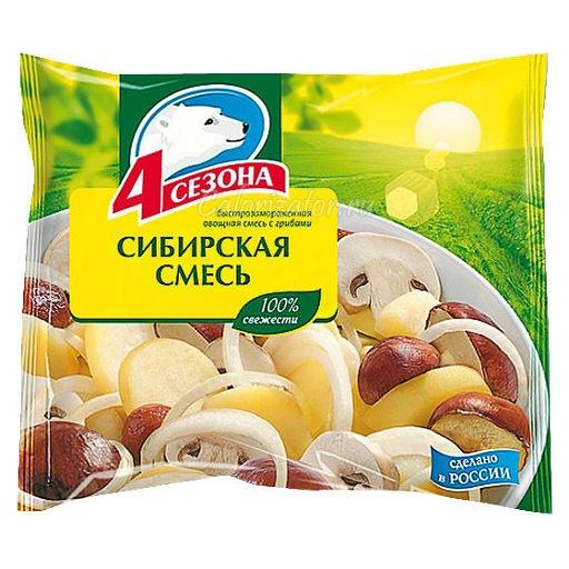 Овощная смесь 4 сезона Сибирская