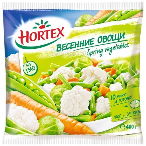 Овощная смесь Hortex весенние овощи