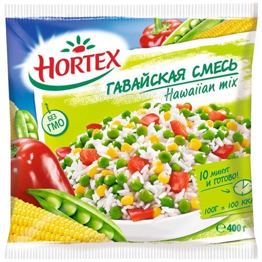 Овощная смесь Hortex гавайская