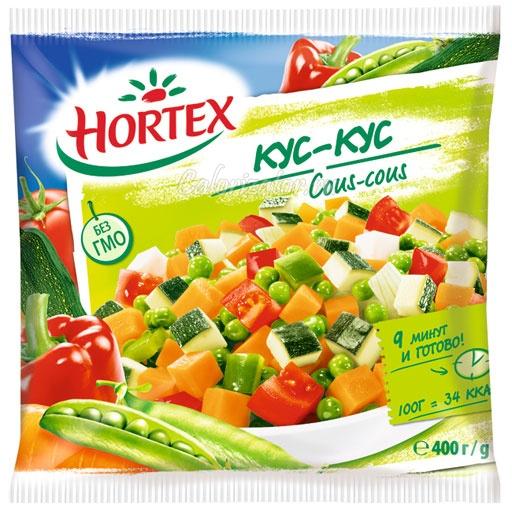 Овощная смесь Hortex кус-кус