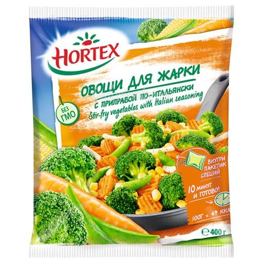 Овощи для жарки Hortex с приправой по-итальянски