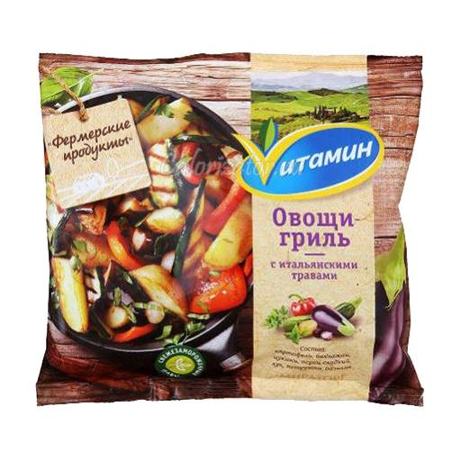Овощная смесь Vитамин Овощи-гриль с итальянскими травами