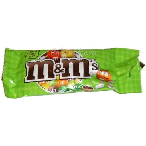 Шоколад M&M's со вкусом лесного ореха
