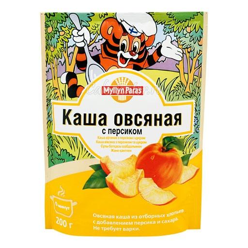 Овсяная каша Myllyn Paras с персиком и сахаром