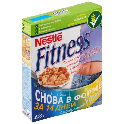 Хлопья Nestle Fitness из цельной пшеницы