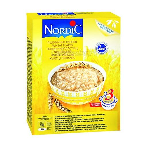 Пшеничные хлопья Nordic