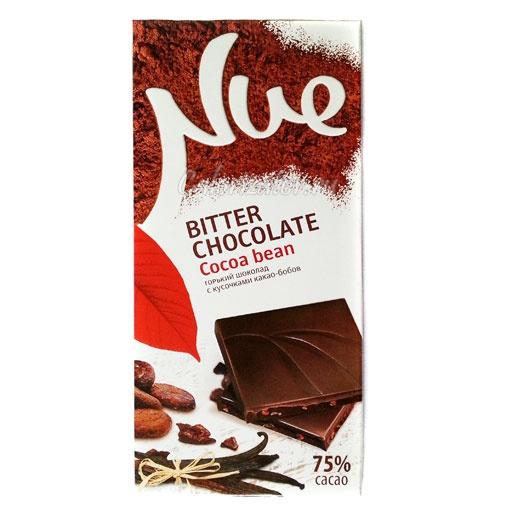 Шоколад Nue Bitter Chocolate Cocoa Bean