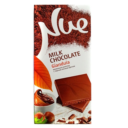 Шоколад Nue Milk Chocolate Gianduia