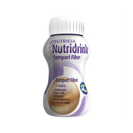 Напиток Nutridrink Compact Fibre со вкусом кофе