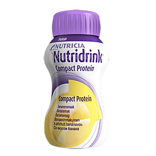 Напиток Nutridrink Compact Protein со вкусом банана