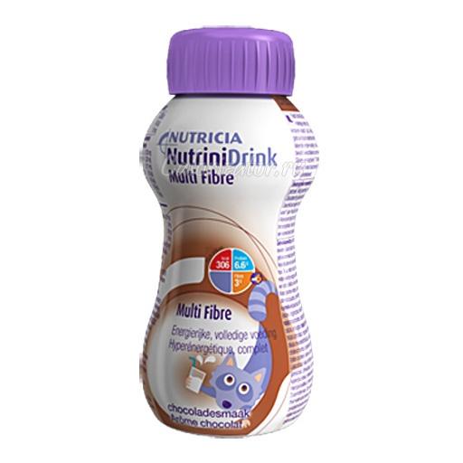 Смесь NutriniDrink Multi Fibre со вкусом шоколада