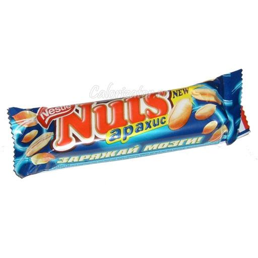 Шоколад Nuts Арахис
