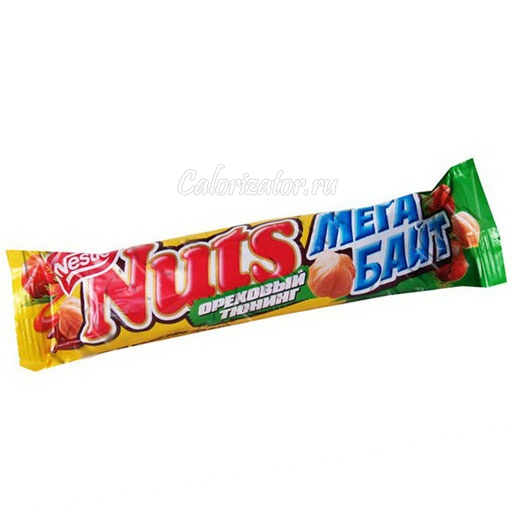 Шоколад Nuts Мегабайт