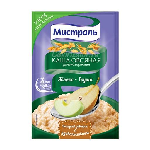 Овсяная каша Мистраль Яблоко-Груша