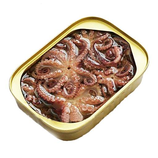 Осьминог консервированный