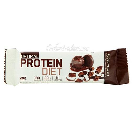Батончик Optimum Optimal Protein Diet Bar