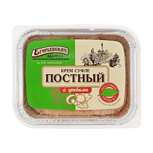 Крем суфле Егорьевская ФКГ Постный с грибами